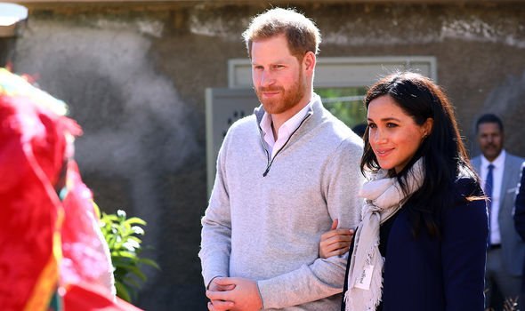 Harry and Meghan in Morocco 2019