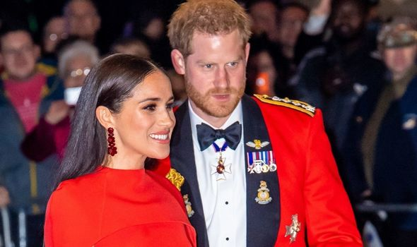 Meghan Markle and prince harry at awards