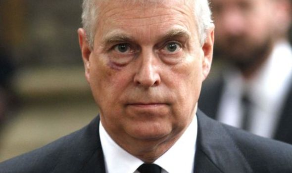 Prince Andrew news royal family latest