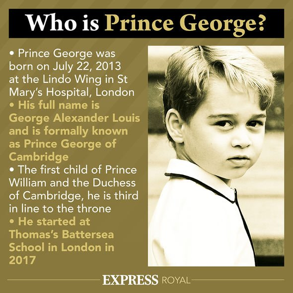 Prince George latest royal update
