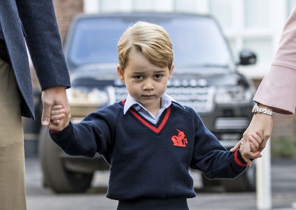 Prince George latest royal family video