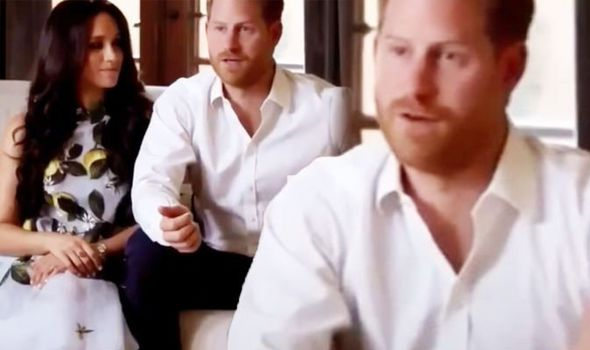 Prince Harry: Meghan Markle body language