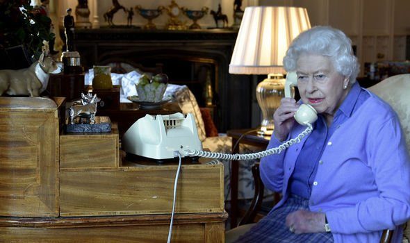 Prince Harry made a phone call with the Queen