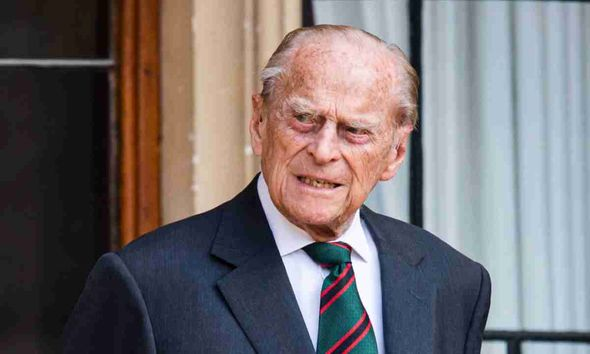 Prince Philip is in hospital