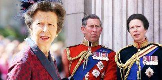 Princess Anne: Body language Prince Charles