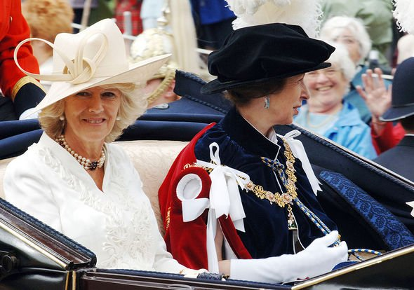 Princess Anne: Camilla Parker Bowles bond