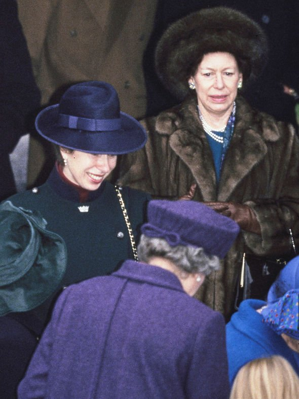 Princess Anne: Princess Margaret royals