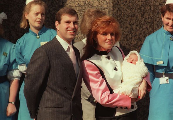 Princess Eugenie baby: Sarah Ferguson and Prince Andrew