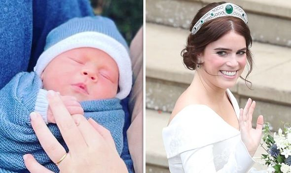 Princess Eugenie baby's christening could contain adorable nod to royal wedding day