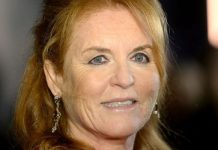 Sarah Ferguson attends the BFI Luminous Fundraising Gala at The Roundhouse on October 1, 2019 in London