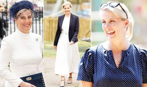 Sophie, Countess of Wessex: Style royal