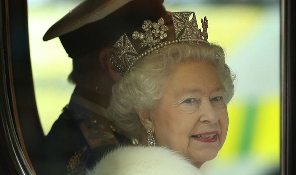 The Queen is first thought to have worn them at the State Opening of Parliament in 2012