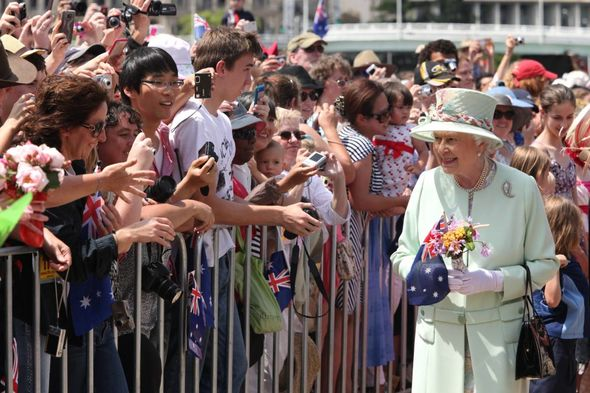 The Queen is head of state for 16 Commonwealth nations