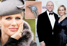 Zara Tindall: Mike engagement ring