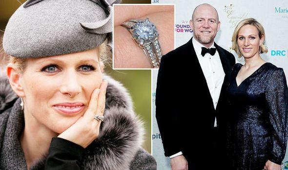 Zara Tindall: Mike engagement ring
