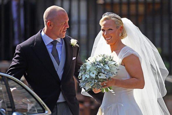 Zara Tindall: Mike engagement ring wedding