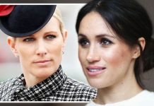 Zara Tindall and Meghan Markle