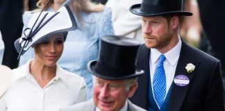 prince charles queen prince harry meghan markle