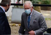 prince charles visits prince philip hospital