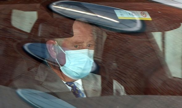 prince charles visits prince philip hospital london travel