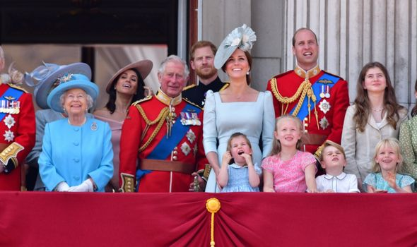 prince george trooping colour savannah phillips