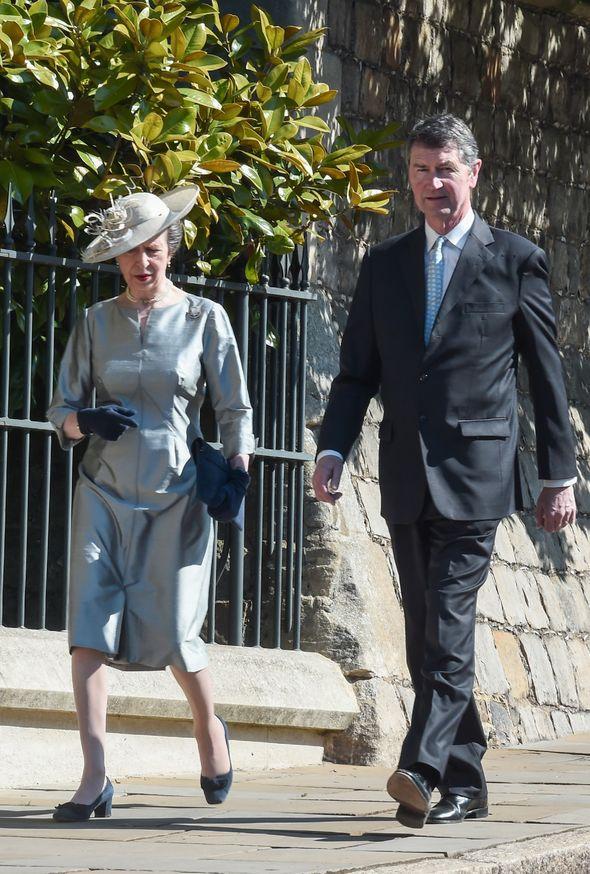 princess anne news timothy laurence royal family