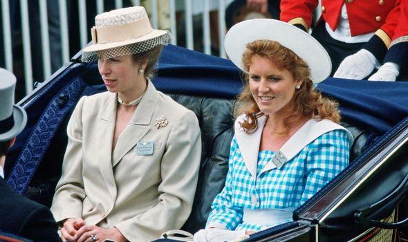 princess anne sarah ferguson royal family news