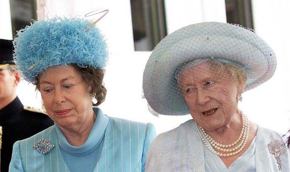 princess margaret queen mother
