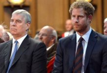 queen elizabeth ii prince andrew harry military