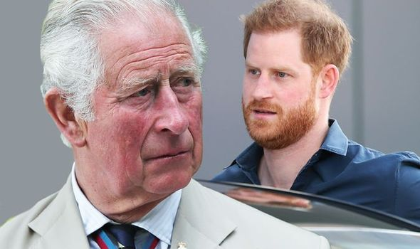 Prince Charles allegedly cut Harry off when he left the Royal Family
