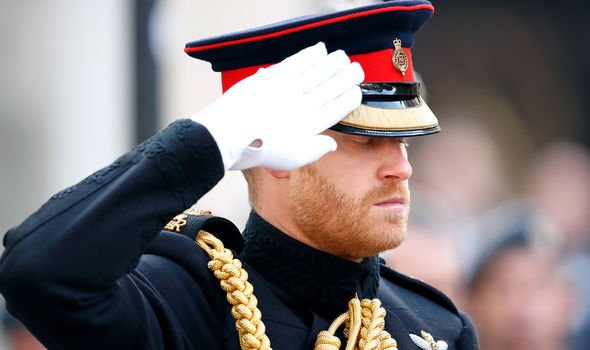 Harry has often expressed his devotion to the Armed Forces