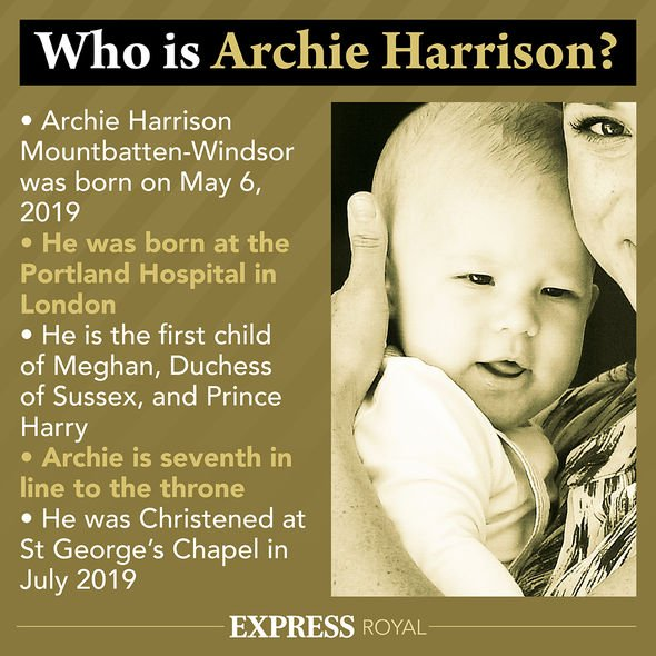 Archie Harrison latest royal Prince George news