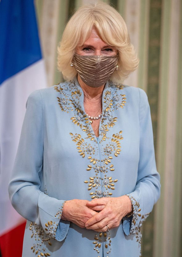 Camilla the Duchess of Cornwall in Greece