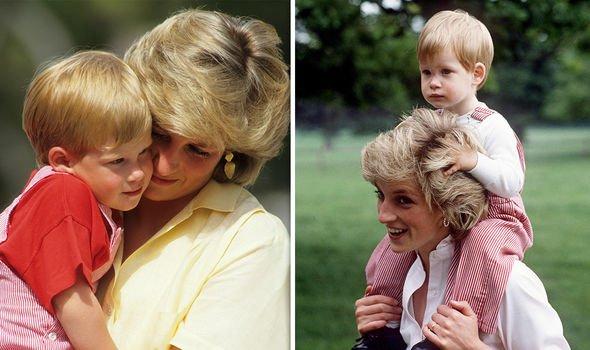 Princess Diana and Prince Harry had a close bond