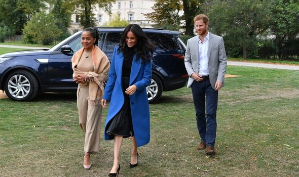 Doria Ragland will also become a grandmother to Meghan and Harry's girl