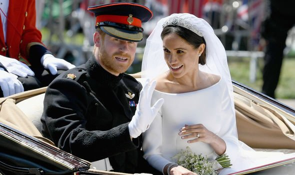 Harry and Meghan married in 2018