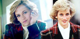 Kristen Stewart Princess Diana Spencer film Instag