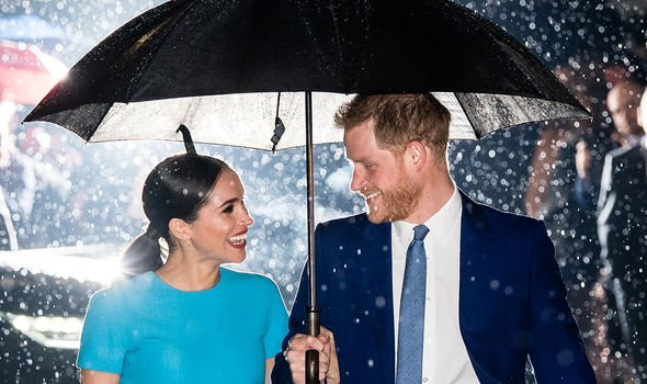 Meghan and Harry left the Royal Family last March