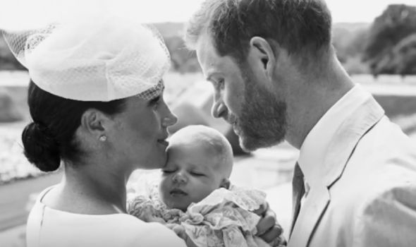 Meghan Markle Prince Harry August Archie baby latest