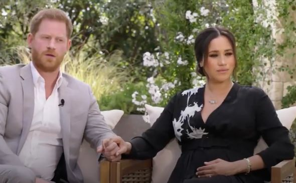 Oprah interview: Meghan Markle and Prince Harry in unseen teaser ahead of highly-anticipated chat