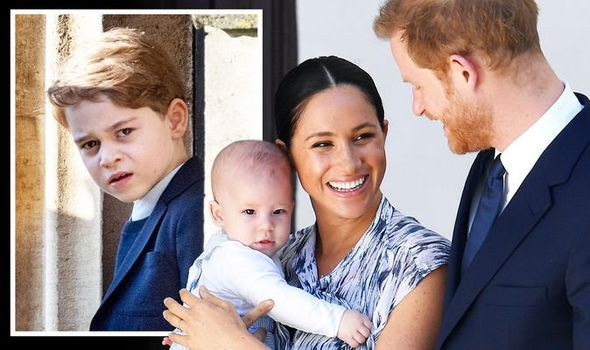 Prince George news Archie Harrison royal latest