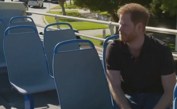 Prince Harry news: Prince Harry chatting with James Corden
