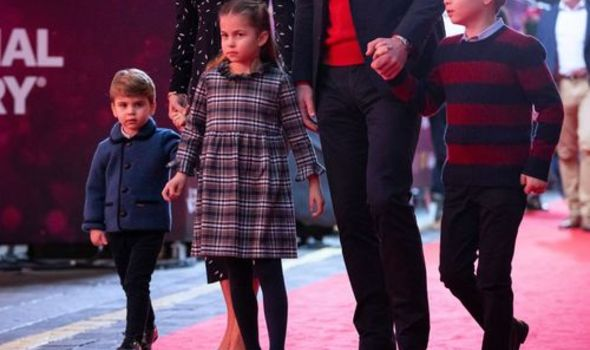 Prince Louis and Charlotte