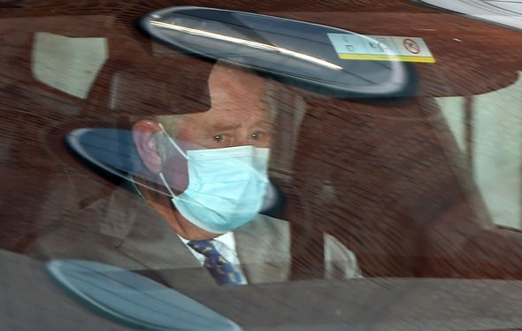 prince charles leaving king edward viii hospital