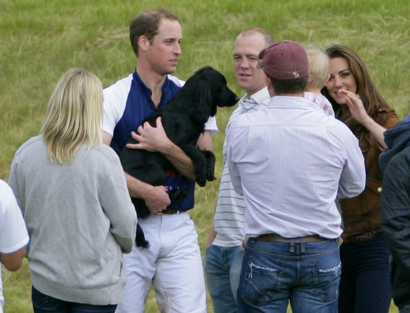 Prince William with his late dog Lupo