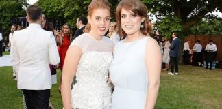 Princess Beatrice and Eugenie at Serpentine Gallery party
