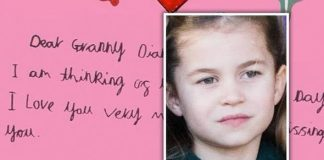 Princess Charlotte has written a heartbreaking note to Diana