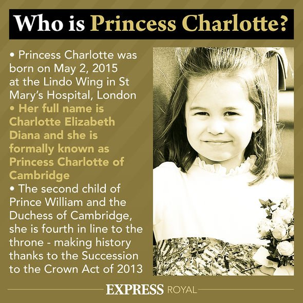 Princess Charlotte wrote a special note for her grandmother Diana