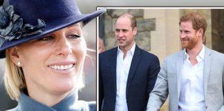 Royal news Zara Tindall Prince William Harry video