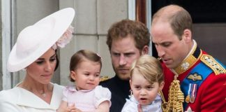 Princess Charlotte, Prince George and Prince Harry
